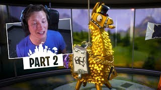 Fortnite Save the World - Part 2 - OPENING LLAMA PACKS