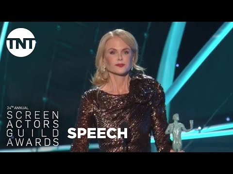 Nicole Kidman: Acceptance Speech  24th Annual SAG Awards  TNT