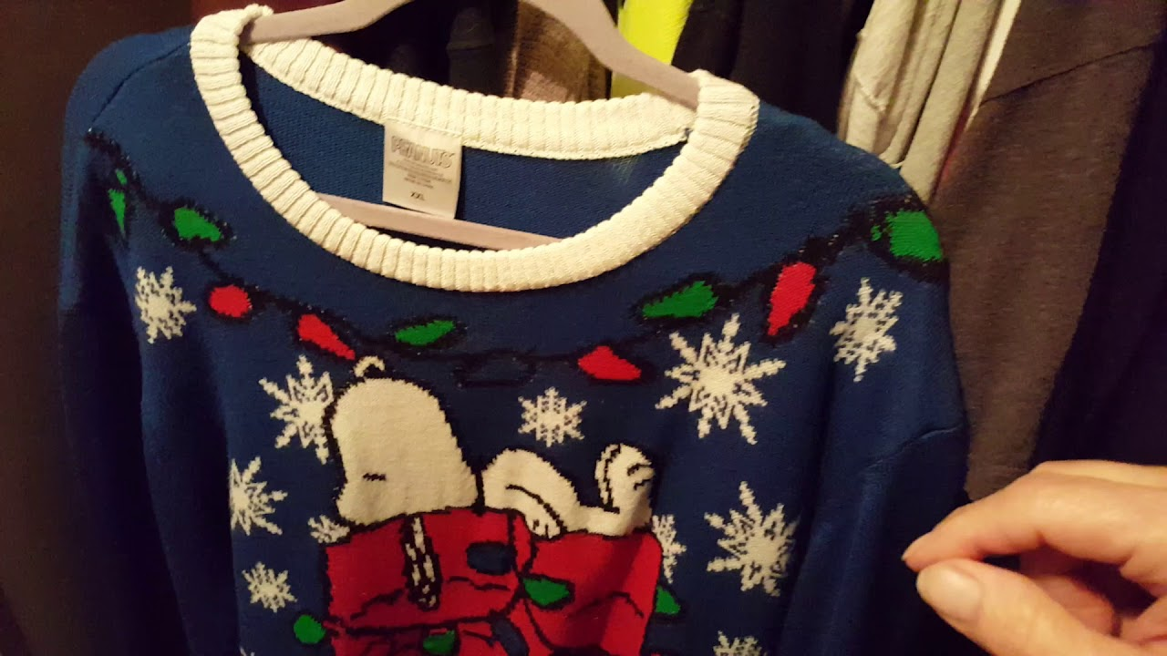my ugly snoopy christmas sweater