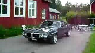 Pontiac Firebird 69 Burnout