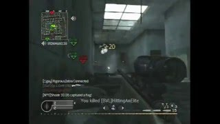 Call of Duty 4 Sniper Montage by Ep ii DeM ii Kz