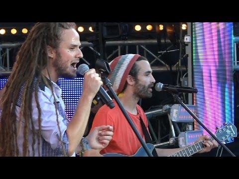 The Banyans (F)- Live @  Ostróda Reggae Festival 2015 ( World Reggae Contest)