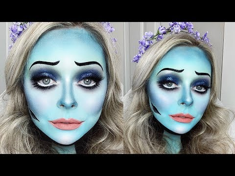 GLAM CORPSE BRIDE MAKEUP TUTORIAL