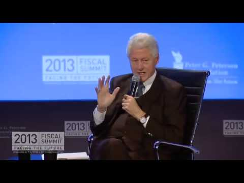 2013 Fiscal Summit: Shaping America's Future with President Bill Clinton and Bill Gates