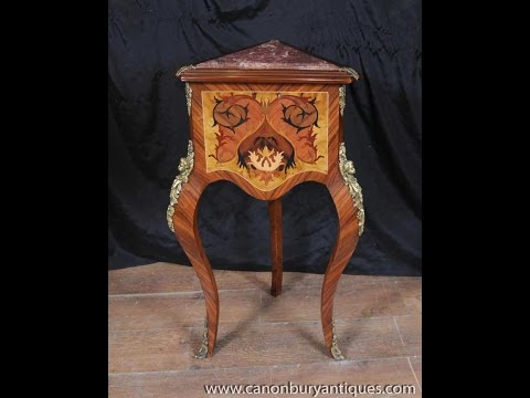 Louis XV Side Table Triangle Corner Tables