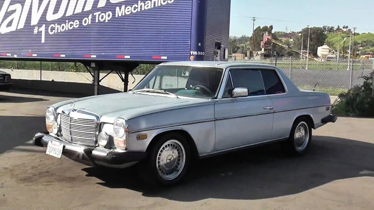 74 mercedes benz 280c coupe w114 w115 s280 for sale 280 for Mercedes benz s280 for sale