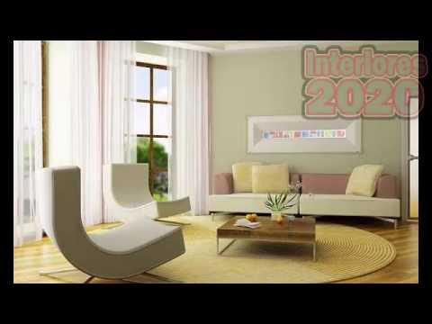 Colores de moda pintura para interiores youtube - Pintura metalizada pared ...
