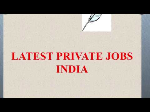 #16- Indian Private jobs