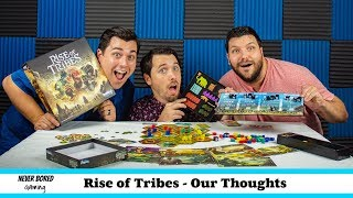 Rise of Tribes - Our Thoughts (Board Game)