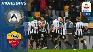 Udinese 1-0 roma | get overdue win after almost two months serie a