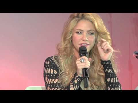 Shakira - Album Launch Highlights / Lanzamiento del álbum en Barcelona