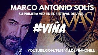 Marco Antonio Solís por  primera  Vez en Festival de Viña  / Recorrido por Palacio Rioja #VIÑA2018