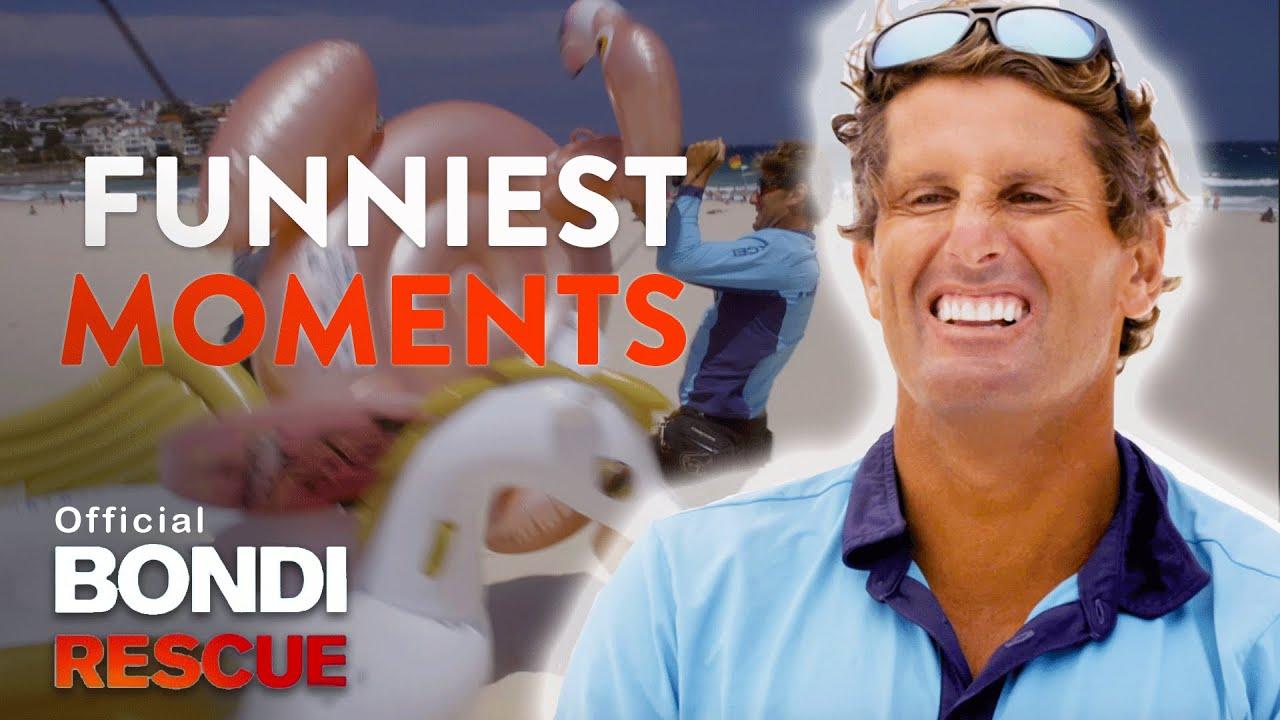 Top 5 Funniest Moments - Bondi Rescue | Season 14