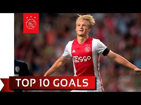 TOP 10 GOALS - Kasper Dolberg