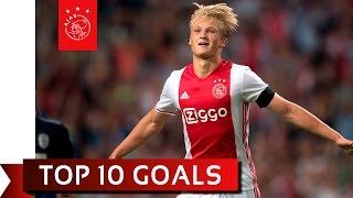 TOP 10 GOALS - Kasper Dolberg