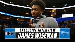 James Wiseman Discusses His Time at Memphis and NBA Draft With Jeff Goodman   Stadium