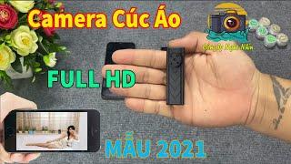 Camera Quay Lén Siêu Nhỏ Ngụy Trang Cúc Áo S63 FULL HD Mẫu Mới 2021