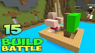 ч.15 Minecraft Build Battle - Нинтендо, Пиратский Корабль и Мухоморная Река