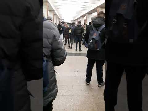 Чп в метро на калужко-рижской линии метро Теплый стан