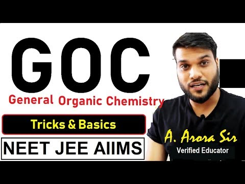 (GOC) Stability Of Carbocation/Carbanion/carbradical   Homolytic & Heterolytic Cleavage   NEET JEE