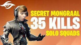 Secret Mongraal's 35 BOMB vs Squads | Fortnite