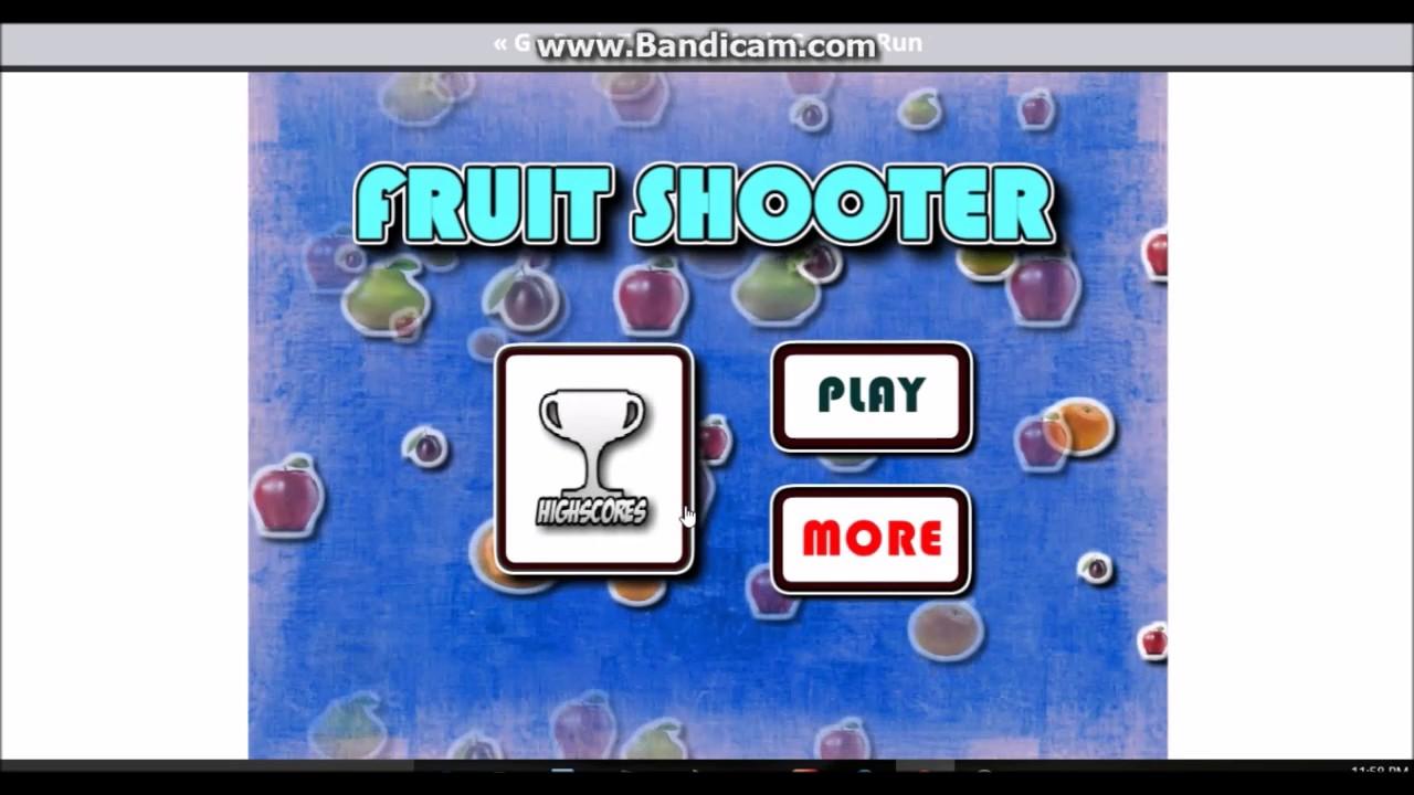 Fruit shooter games -  Fruit Shooter