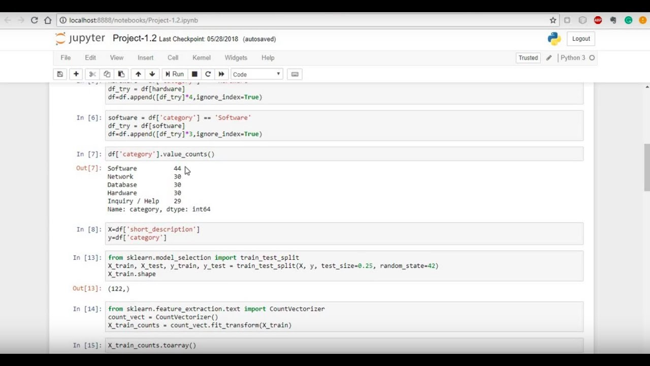 ServiceNow - How to Create a Machine Learning Model to Predict Categories  in Kingston