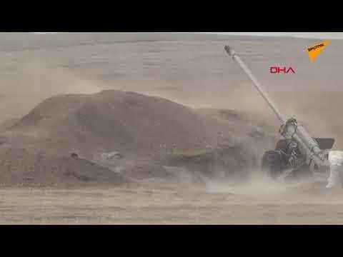 Azerbaycan, topçu birliklerinin
