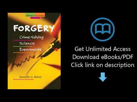Download Forgery: Crime-Solving Science Experiments (Forensic Science Projects) [P.D.F]
