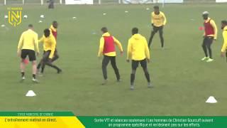VIDEO: LIVE I Suivez l'entraînement en direct de Carnac.