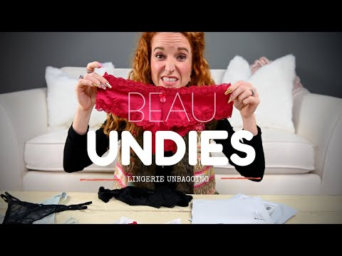 Beau Undies Review - Underwear Subscription Box Review. http://bit.ly/2lJuCee
