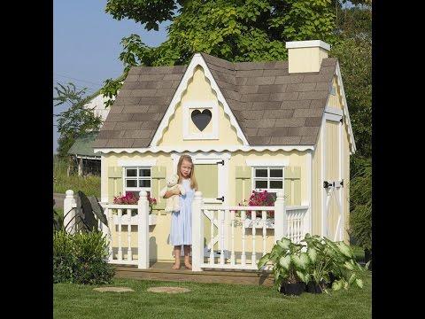 Сделать домик детям на даче