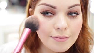 Yours Clothing | Christmas Party Make-up Tutorial | Poppy Adams
