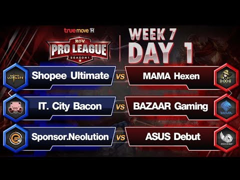 RoV Pro League Presented by TrueMove H : Week 7 Day 1
