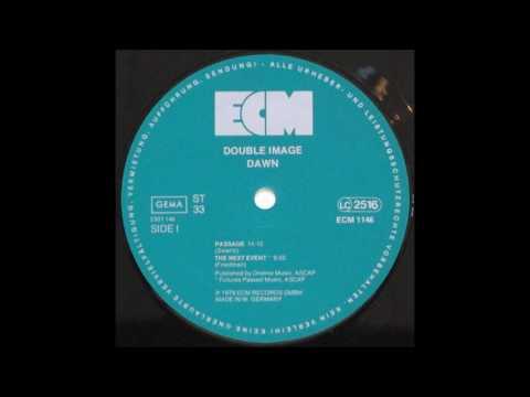 """Double Image """"Dawn"""" 1978 ECM LP"""