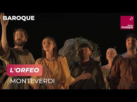 Monteverdi : L'Orfeo (Les Arts Florissants / Paul Agnew / Cyril Auvity /Léa Desandre...)