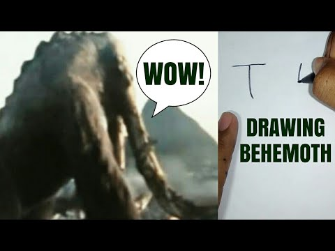 HOW TO DRAW BEHEMOTH