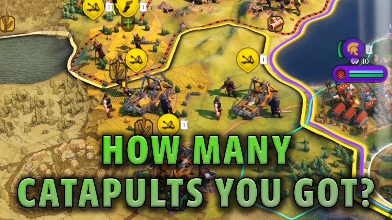 How Many Catapults You Got?! - Civilization 6 Gathering Storm Deity Part 10