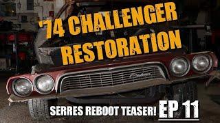 74 Dodge Challenger Restoration #11 - REBOOT TEASER!!