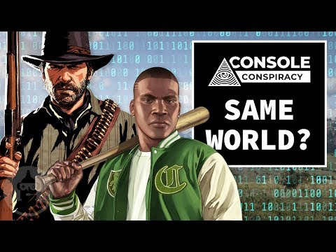 Are Red Dead Redemption and GTA in the Same World? - Console Conspiracy | The Leaderboard thumbnail