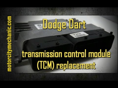 2013 Dodge Dart transmission control module (TCM) removal and replacement