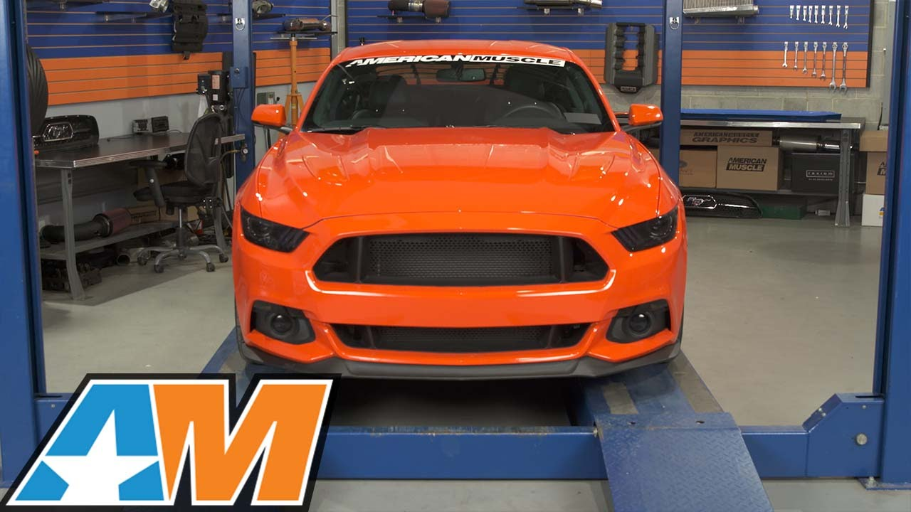 2015 2017 Mustang Rtr Grille Review Amp Install Youtube