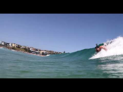 BODY SURFING BONDI BEACH AUSTRALIA