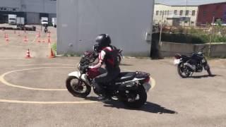 Обучение вождению на мотоцикле
