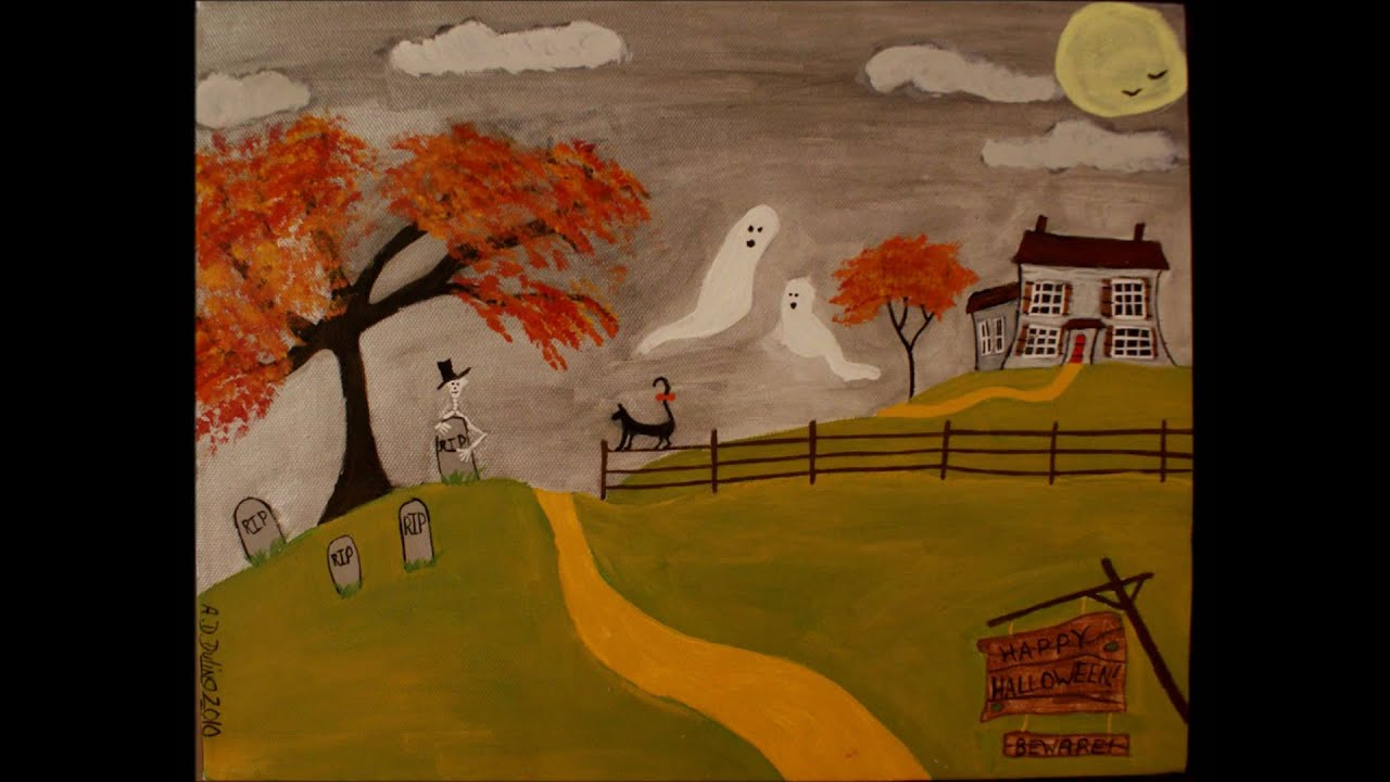 Primitive Folk Art Paintings | www.imgkid.com - The Image ...