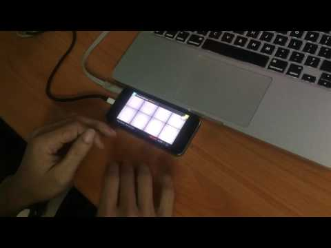 Beautiful Girl (Skull Ft. Haha, Kwon Jung) - Simple Drum Pad Cover On IPhone 5s
