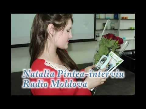 """Natalia Pîntea - interviu ,,Radio Moldova"""""""