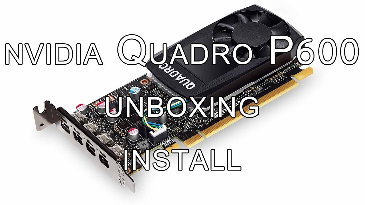 PeteRoy - Nvidia Quadro P600 raw video 4k - YouTube