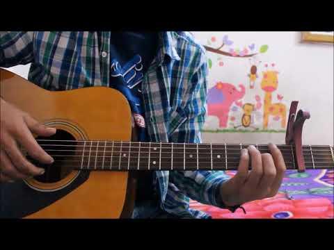 Jeene Bhi De Duniya hume ( Ishq Gunnah ) Dil Sambhal Ja zara - Guitar cover lesson hindi chords