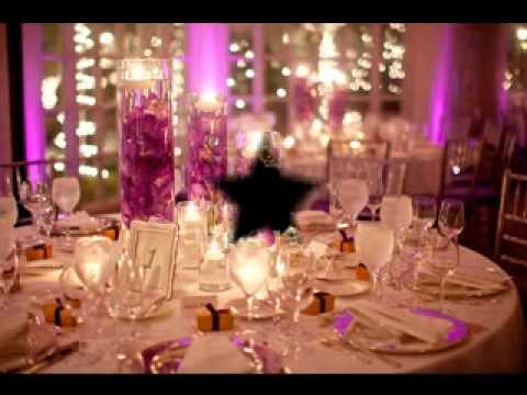 DIY Wedding reception decorating ideas & DIY Wedding reception decorating ideas - YouTube